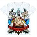New 2016 Fashion Short Sleeve Tee Anime T Shirt One Piece Luffy Skull  T-shirt