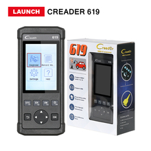 Launch CReader 619 Code Reader scanner Full OBD2/EOBD Functions CR619 Diagnstic tool CR6011 CR6011 Free shipping