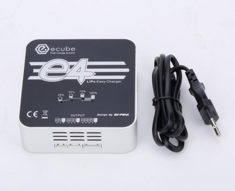 D'origine EV-PEAK 50 W E4 Lipo batterie chargeur 2-4 S drone hobby rc batterie lipo chargeur pour passe-temps modèle Livraison gratuite