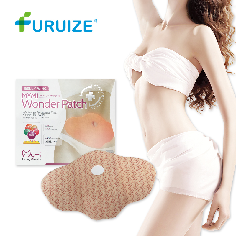 Slimming patch Belly wing Fat Burning Patch Mymi wonder patch Abdomen Weight Loss Fat Slim Belly wing Navel Weight Loss patch ...