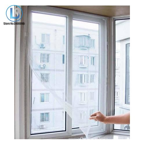 DIY Fly Bug Mosquito Curtain Protector Door Window Net Mesh Screen Insect Flyscreen A493