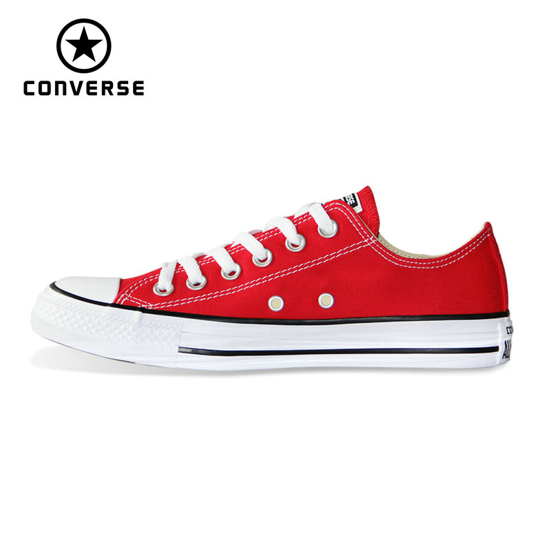2018 CONVERSE all star shoes Chuck Taylor original uninex classic sneakers man and women Skateboarding Shoes 101007 new converse chuck taylor all star ii low men women s sneakers canvas shoes classic pure color skateboarding shoes 150149c