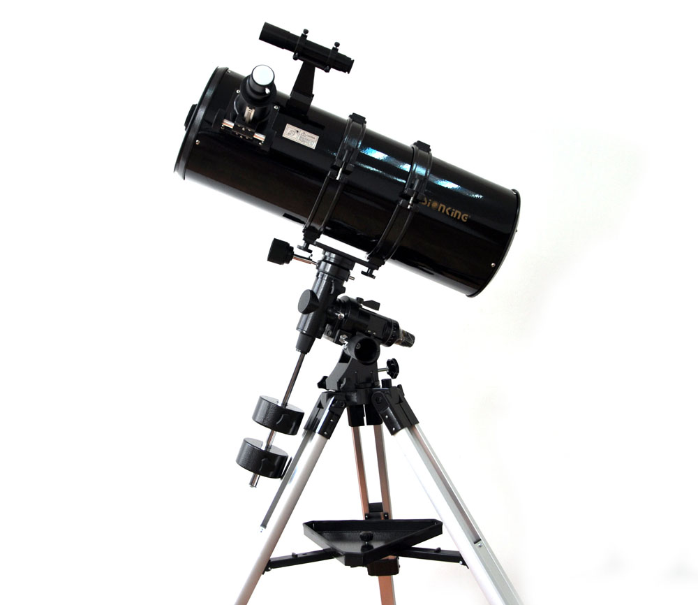 Visionking 203 mm 8 inches Equatorial Mount Space 203-800mm Astronomical Telescope High Quality Astronomy Telescope Binoculars visionking 150750 150 750mm 6 equatorial mount space reflector astronomical telescope