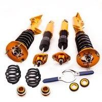 Шок Подвеска стойки для BMW E36 316 318 320 328 Coilover снижение комплект седан купе для 316i 318i 320i 323i 325i 328i