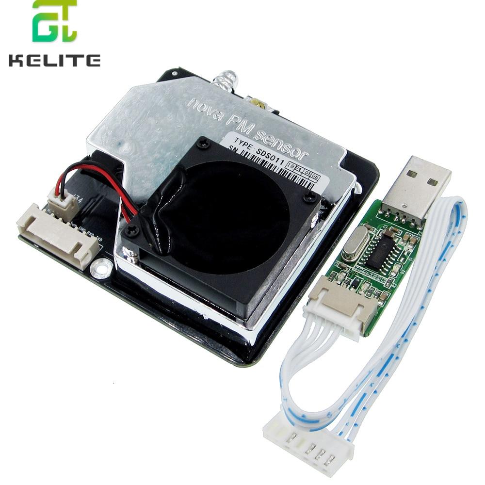 Nova PM сенсор SDS011 Высокоточный лазер pm2.5 Датчик качества воздуха модуль супер пыли датчики, цифровой выход-in Сенсоры from Электронные компоненты и принадлежности on AliExpress