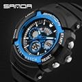 Marca de luxo Homens Eletrônica Digital LED Relógios Esportivos Casuais Mens Swim Moda Militar relógios de Pulso de Quartzo Relogios Masculion