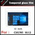 "HI12 SUPERIOR Premium Temperado Film Vidro Para Chuwi 12 ""tablet pc, Anti-shatter Filme HD Protetor de Tela Para chuwi hi12 Frete grátis"