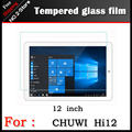 "TOP Premium Tempered Glass Film For Chuwi HI12 12"" tablet pc,Anti-shatter Screen Protector HD Film For chuwi hi12 Free shipping"