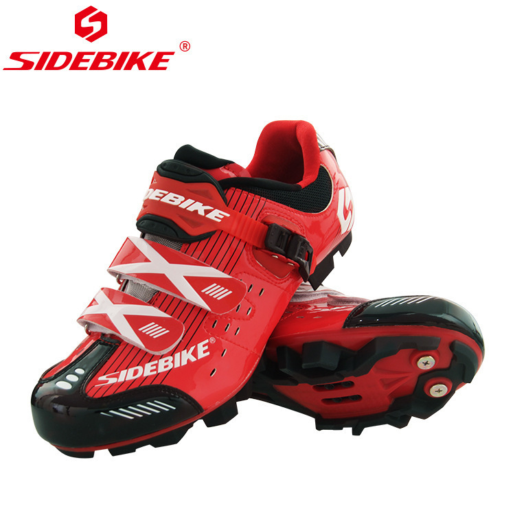 SIDEBIKE MTB Men Outdoor Cycling Shoes Bicycle Shoes Ultralight Self-locking Cycling Bike Shoes Sneakers Sapatos De Ciclismo santic new design cycling shoes men outdoor road bike shoes self locking shoes non slip bicycle shoes sapatos with 3 colors