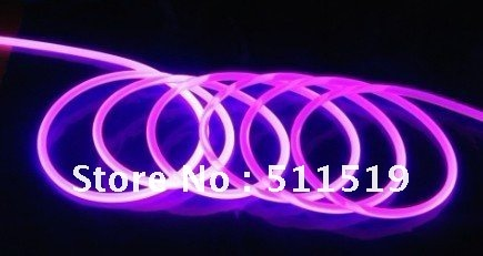 Fiber Optic Pool Lighting Kit With 20m 14mm Solid Core Side Glow Cable 1pcs Non Waterproof 50w Led Light Engine In Lights From