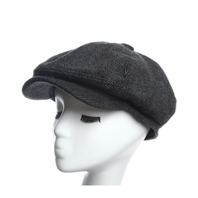 4ccd0316783 Newsboy Caps Herringbone Tweed Warm Winter Octagonal Hat Male Female Gatsby  Retro Flat Caps Hats for