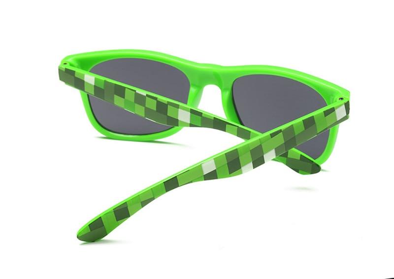 Long Keeper 2017 jaunās Minecraft stila saulesbrilles, ovālas, - Apģērba piederumi - Foto 4