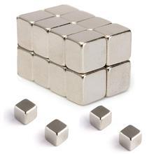 цена на 20Pcs 5x5x4mm N52 Super Strong Square Rare Earth Neodymium Fridge Magnets Blocks