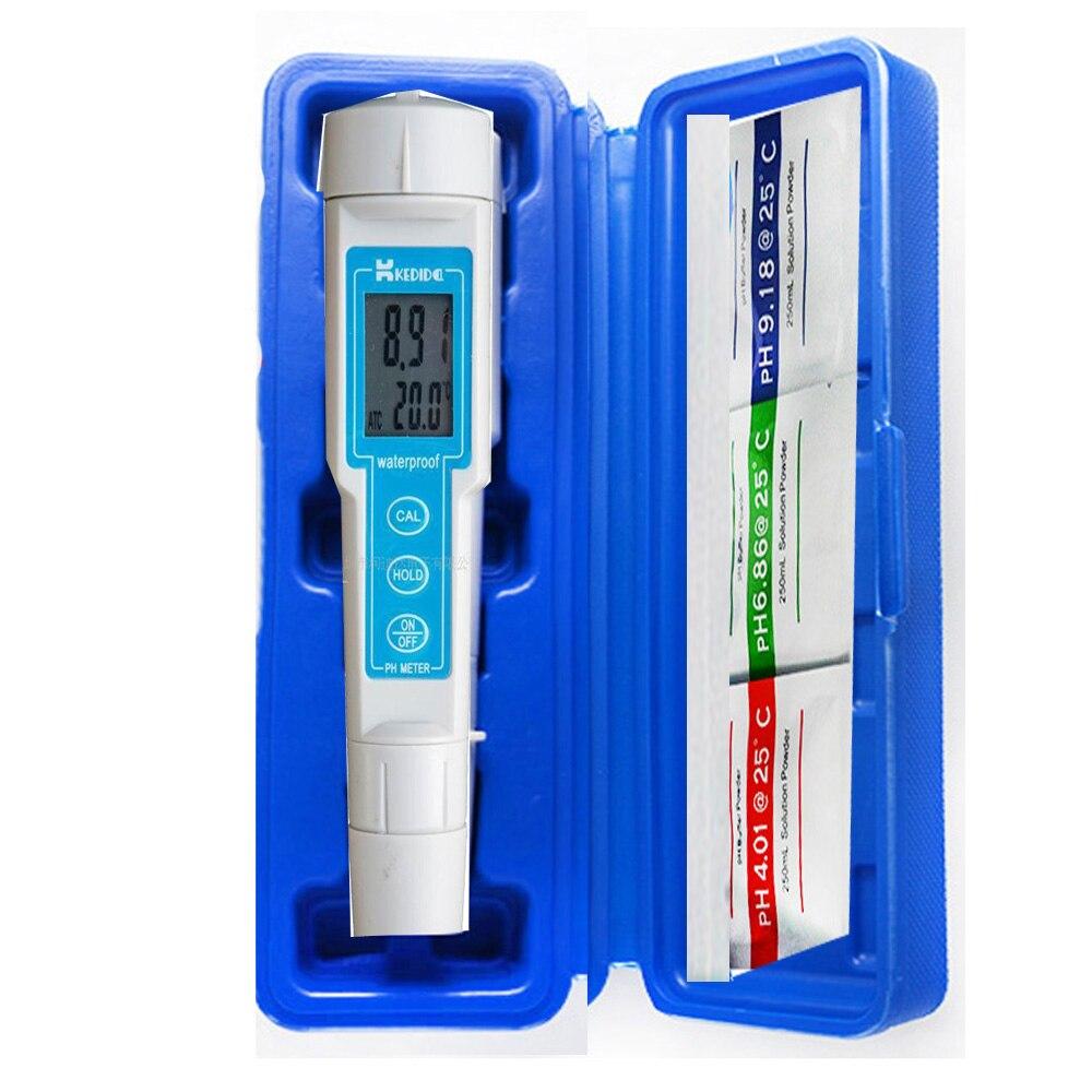 CT 6020 digital pH meter Pocket Waterproof PH meter Accuracy 0 02pH range 0 to 14