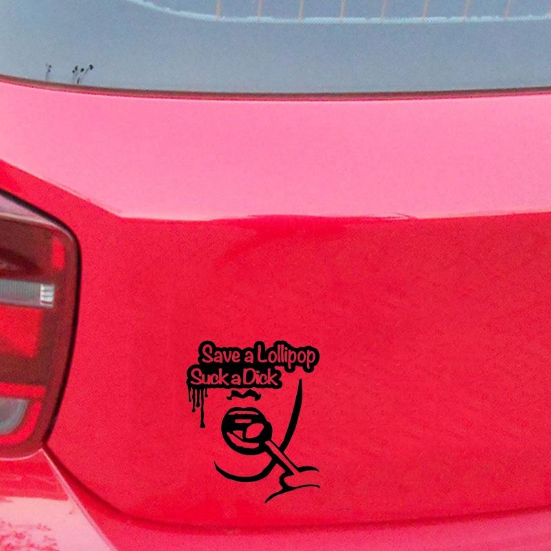 SAVE A LOLLIPOP sticker decal vinyl jdm funny bumper car truck 4x4  window drift