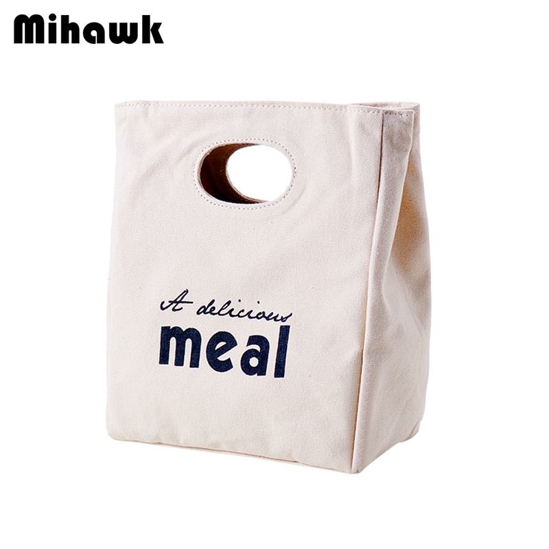 Mihawk Insulated Heat Lunch Bags Thermal Women Picnic Bento Box Boys Thermo Pouch Fresh  ...