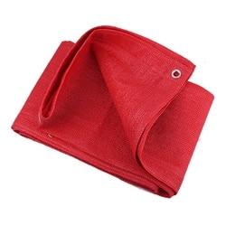 Wysokiej jakości czerwony niebieski ogród parasol przeciwsłoneczny żagle żeglarstwo bez zapachu HDPE anty-uv osłona przeciwsłoneczna parasolka domowa siatka zacieniająca cień żagiel