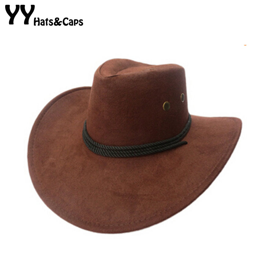 Mode westerse cowboyhoeden groothandel Womens Mens Tourist Caps voor reizen Heren Womens Outdoor Performance Hat YY0270-1