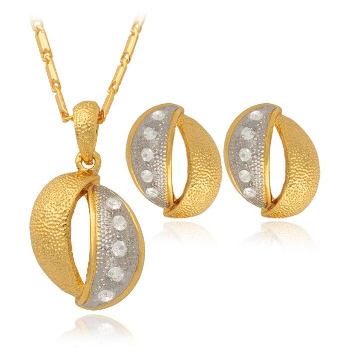 Elegant 2014 NEW Womens Dangle Drop Earrings Gold Crystal Rhinestone Brincos