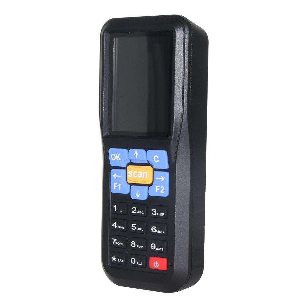 NT-C6 bezprzewodowa Mini kolektor danych ręczny skaner kodów kreskowych czytnik urządzenie laserowe kod terminalu POS NETUM