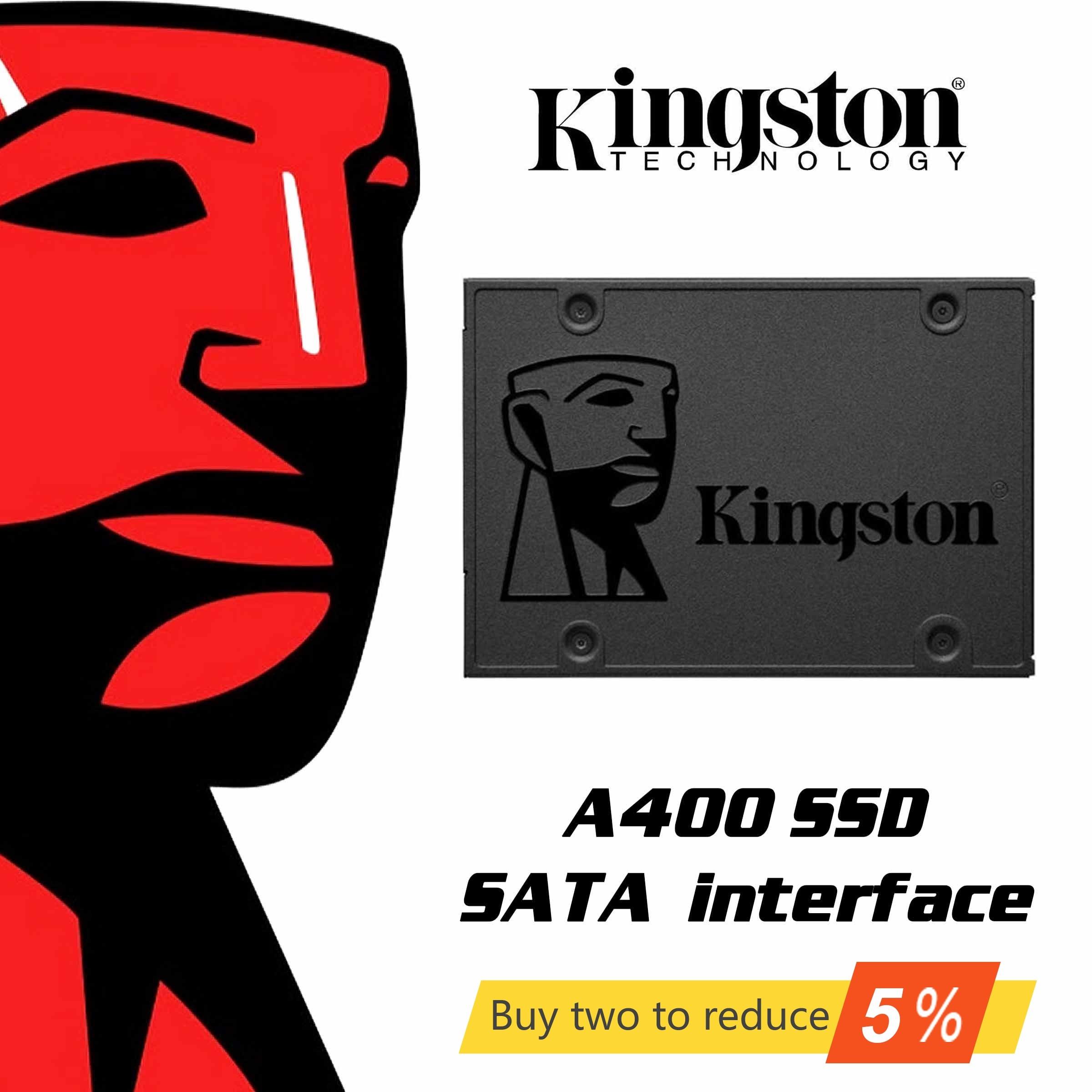 Original Kingston A400 SSD SATA3 2.5 pouces 240GB 480GB interne SSD disque dur disque dur SSD pour ordinateur portable