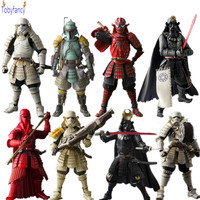 Star Wars Action Figures Sic Samurai Taisho Darth Vader Boba Fett Stormtrooper 170mm Realization Anime Star