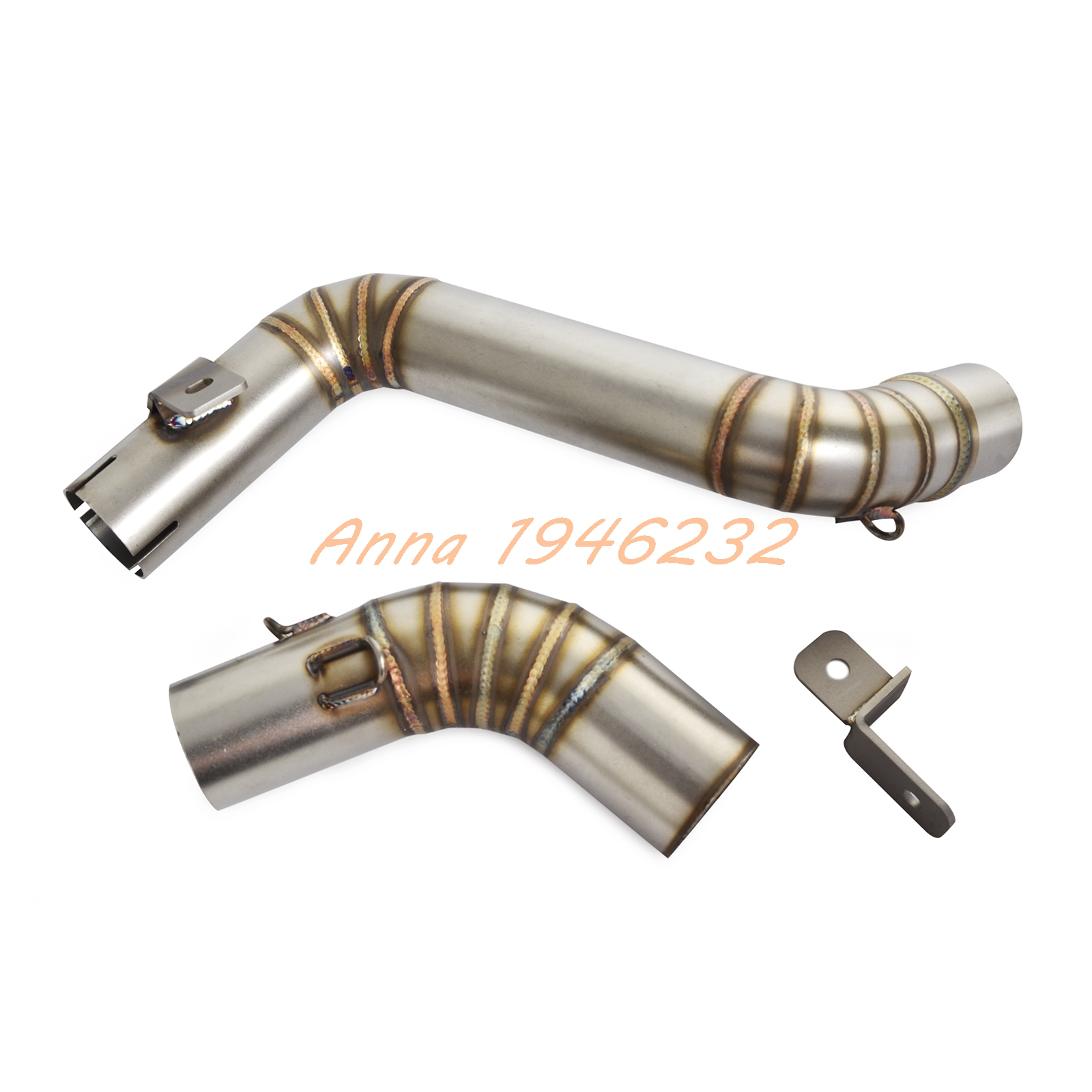 Motorcycle Stainless Slip On Exhaust Header Down Pipe & Exhaust Mid Pipe For KTM 125 200  Duke 2011-2015 Duke 390 2013-2016Motorcycle Stainless Slip On Exhaust Header Down Pipe & Exhaust Mid Pipe For KTM 125 200  Duke 2011-2015 Duke 390 2013-2016