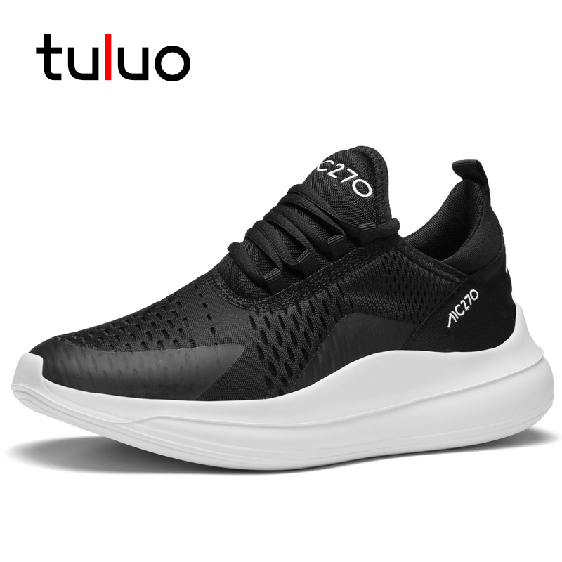 TULUO High Quality Breathable Men Running Shoes Brand Jogging Walking Male Sneakers Fitness Trainers Zapatillas Hombre Deportiva