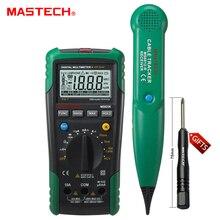 1 pc MASTECH MS8236 AutoRange Multimètre Numérique Testeur LAN Net Câble Tracker Tone Téléphone ligne Vérifier Sans Contact Tension Détecter