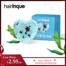Hairinque Organic Seaweed Shampoo Bar 100%PURE Seaweed handmade cold processed shampoo natural ingredient hair shampoo soap 3.28