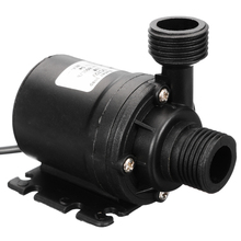 DC 12V 19W IP68 800L/H Mini Ultra Quiet Waterproof Brushless Motor Submersible Pond Tank Fountain Water Pump Accessories