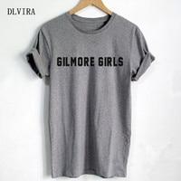 DLVIRA S XXXL Gilmore Girls Letters Print Women T Shirt Casual Cotton Funny Shirt