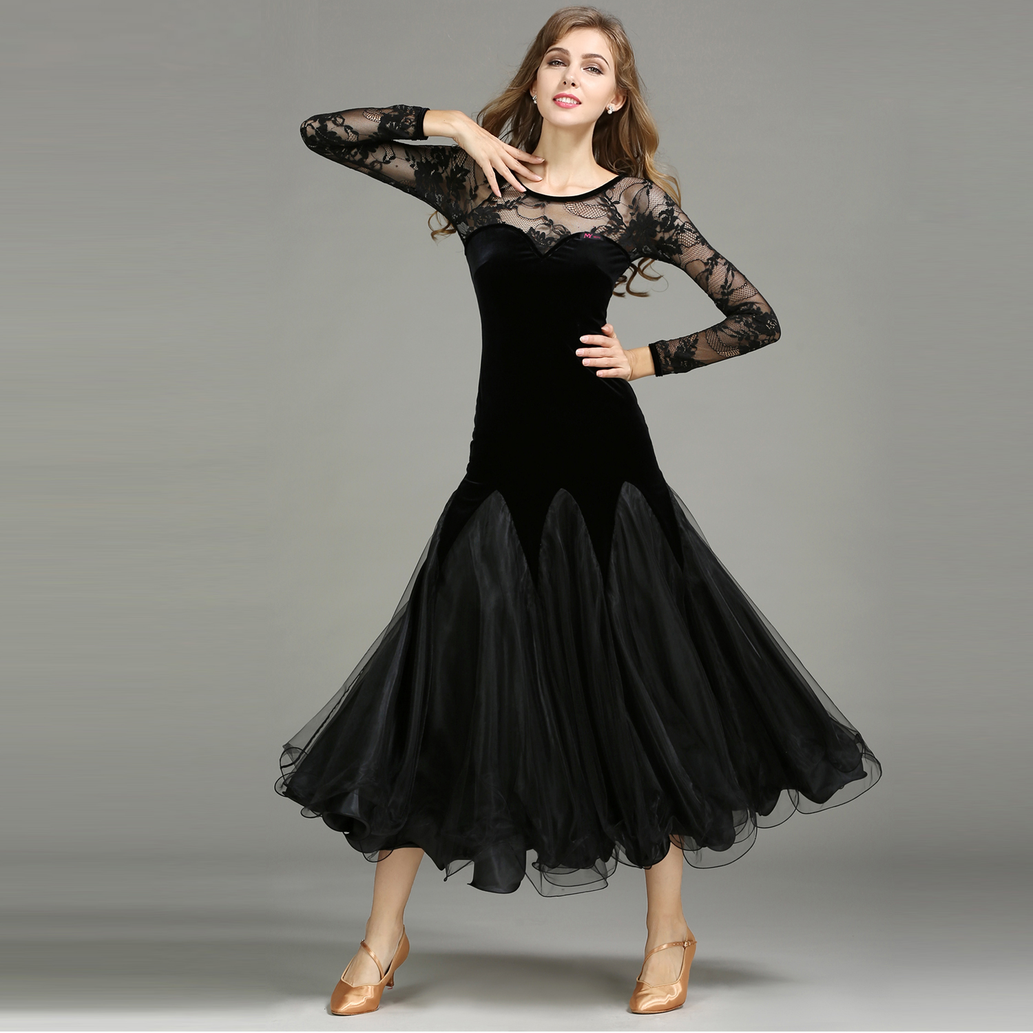 2018 NEW Modern Dance Costume Women Lady Adult Waltzing Tango Dance Dress Ballroom Costume Evening Party Dress 2017 new women ballroom dance dress organza sexy backless standard performance competition jazz waltz tango fox trot jigs suits