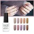 UV gel nail polish nagellack laca barniz de uñas de arte de Chocolate Color Nude esmalte de uñas maquillaje de novia vernis semi permanente