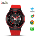 Lemado S99 GSM 3G Quad Core Android 5.1 Smart Watch With Camera GPS WiFi Bluetooth  Pedometer Heart Rate wristwatch