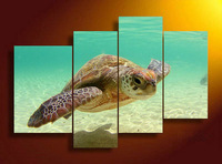Sea Turtle Canvas Print Painting For Living Room Wall Art Picture Home Decoration No Frame