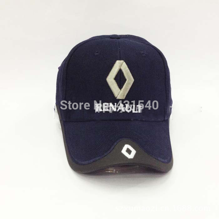 0fda47f7588 Free Shipping F1 Renault car sports racing Team hat sun visor fasion Embroidery  cotton caps model C55F welcome wholesalers-in Baseball Caps from Apparel ...