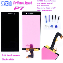 For Huawei Ascend P7 LCD Screen P7-L00 P7-L05 P7-L10 LCD Display Touch Screen Digitizer For Huawei P7 LCD Assembly Parts +Tools brand new replacement parts screen for huawei ascend g8 lcd display with touch digitizer tools assembly 1 piece free shipping