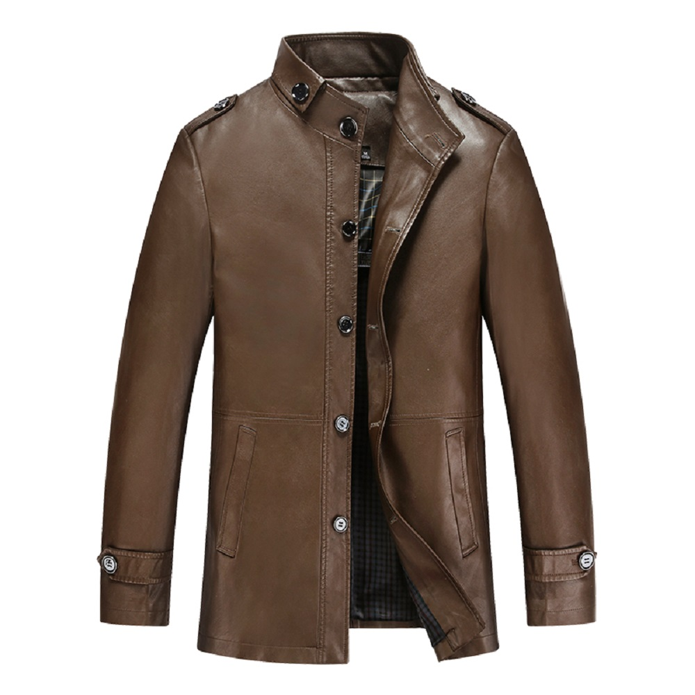 KUYOMENS ePacket Free Shipping Men's Jacket Autumn Leather ...