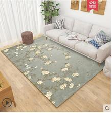4000*3000mm European Style Carpet For Living Room Anti-Slip Soft Kids Bedroom Floor Mats Geometric Large Size Area Rugs Home Dec декор azulev capuccino dec angulo carpet 45x45