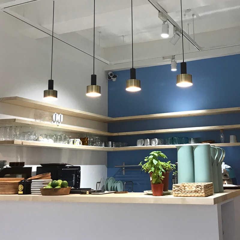 Скандинавский простой бар подвесной светильник цветной подвесной светильник для ресторана, спальни, прикроватный светильник s, современное искусство и креативный светильник ing