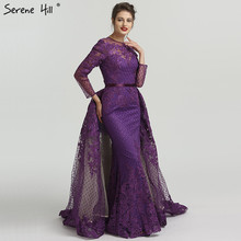 SERENE HILL Muslim Long Sleeve Turkish Arabic Mermaid Dress