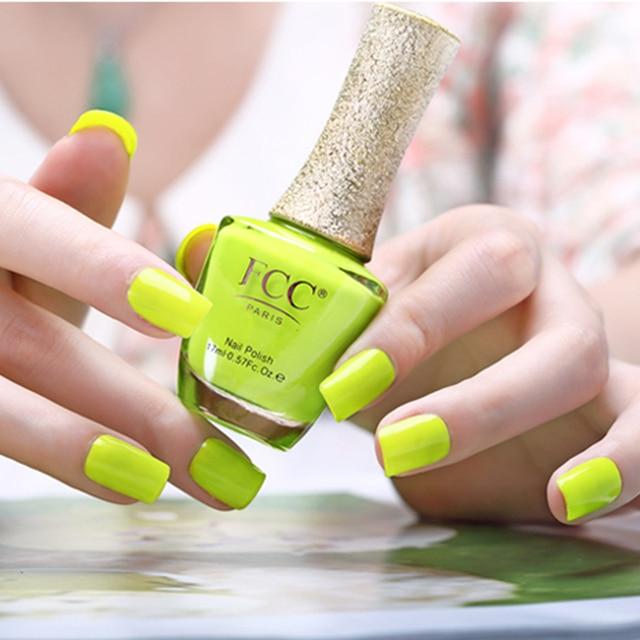 2015 Hot 3pcs Yellow Colors Nail Art Soak Off Mild East Nail Polish