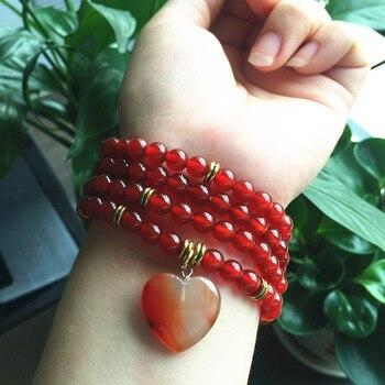 Bracelet Cornaline Chauffée