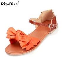 Большой размер 31-45 женские квартиры сандалии богемия бантом лодыжки ремень плоские туфли женщин бренд моды комфортно дамы обуви