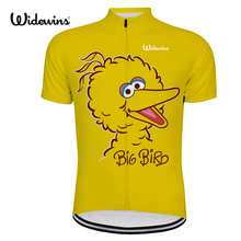 wins big bird cycling jersey women pro team Cycling Wear Soft yellow dots Bicycle Clothes Cycling Clothing cycling bike wear 801 cheap Jerseys Stretch Spandex Polyester Unisex Short Quick Dry Breathable Anti-sweat AUTUMN summer Spring Full Zipper Fits smaller than usual Please check this store s sizing info