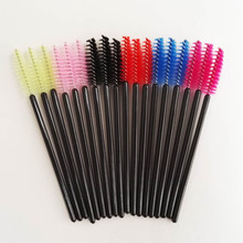 50PCS Multi-color Disposable Eyelash Extension Soft Mascara Brush Wands Applicator Makeup Brushs Cosmetic Tool