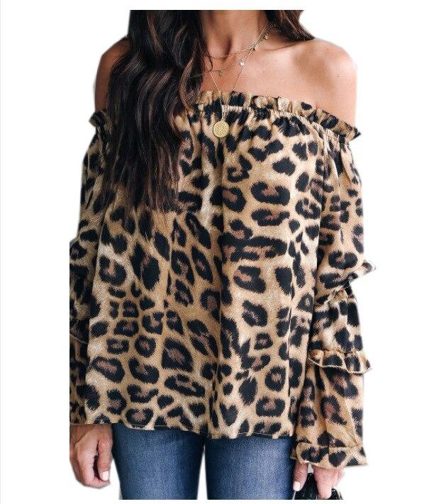 plus size tops womens shirts vintage harajuku blouse women korean pink fashion 2019 summer leopard streetwear
