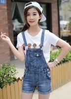 Nueva Corea Mujer Tirantes Tirantes pantalones cortos de Mezclilla General damas PL3856