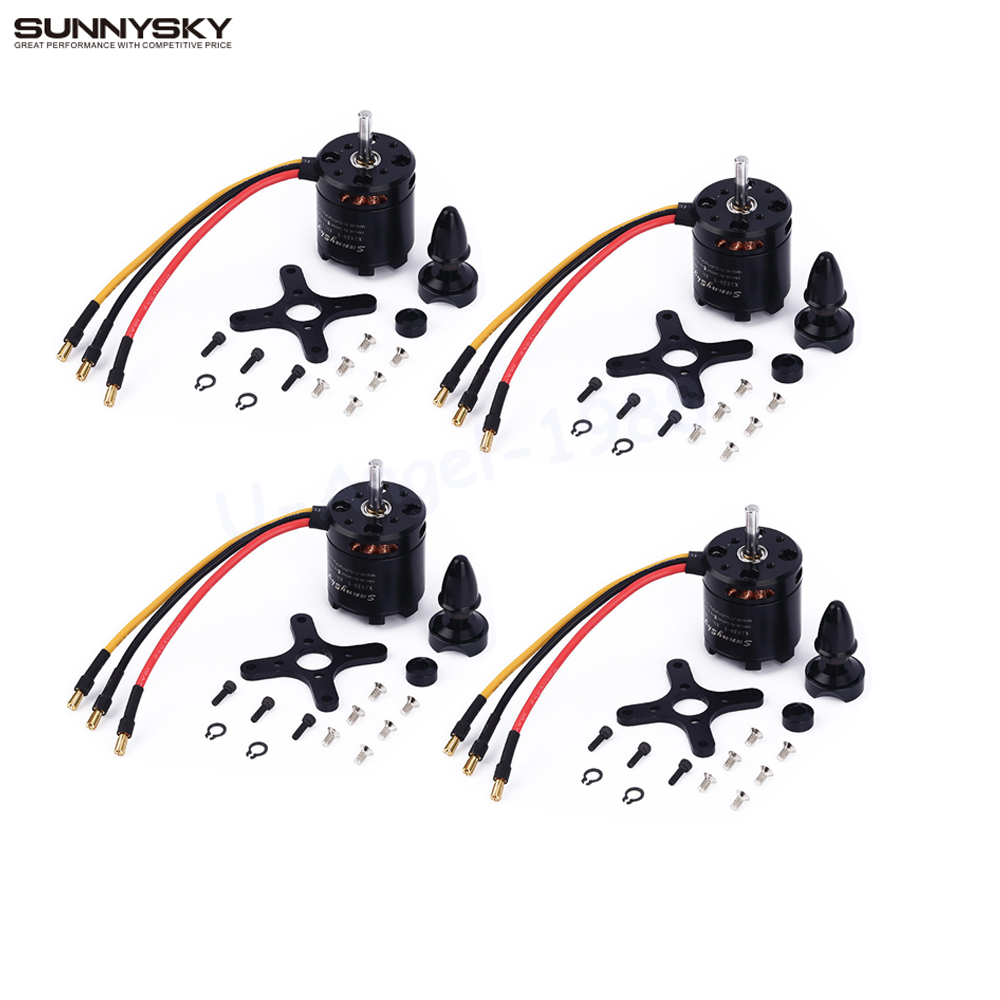 4set/lot SunnySky X2820 800KV 920KV 1100KV outrunner Brushless Motor Engine Servo OSD ESC For RC Airplane Quadcopter Hexrcopter xxd a2212 1000kv brushless motor for rc airplane quadcopter